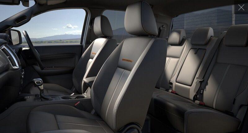 inside novated lease car